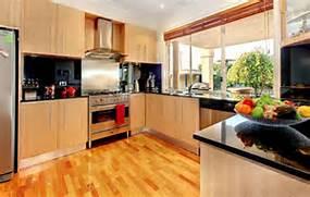 Kitchen Floors Tiles Versus Wood 30 Practical And Cool Looking Kitchen Flooring Ideas DigsDigs Flooring Style Ideas Solid Wood Flooring Ideas Wood And Stone Flooring Tile Flooring Designs Flooring Design Ideas Flooring Makeover
