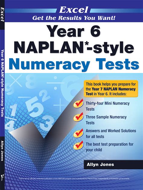We did not find results for: Excel Year 6 NAPLAN*-style Numeracy Tests | Pascal Press