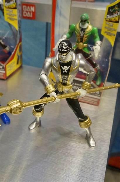 Rangers Power Toy Megaforce Super Ranger Silver