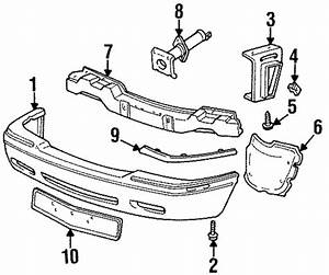 Genuine Cadillac Eldorado Rub Strip 3541498