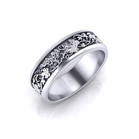 grapevine man s wedding ring jewelry designs