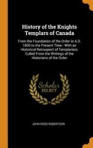 They are referenced in indiana jones and the last crusade, as well as the da vinci. History of the Knights Templars of Canada: From the ...