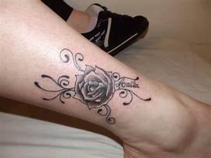 Rose En Tatouage : tattoo prenom rose fantasy tattoo piercing ~ Farleysfitness.com Idées de Décoration