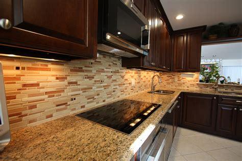 Ceramic Tile Backsplash  Contemporary  Kitchen  New
