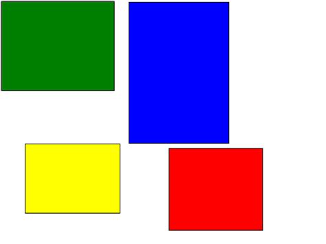 what color for bmp various image formats for html docs