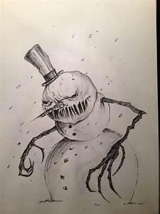 Evil Snowman by angebradley on DeviantArt
