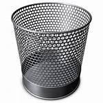 Trash Bin Icon Recycle Ico Icons Metal