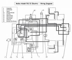 Yamaha Golf Cart Wire Diagram