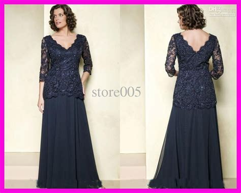 Mother Of The Bride Dresses : Navy Blue Mother Of The Bride Dresses Plus Size Long