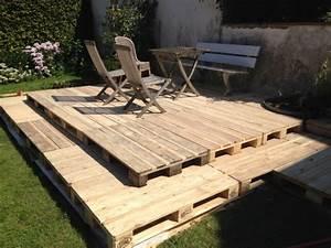 holzterrasse aus paletten selber bauen so geht es With terrasse aus paletten