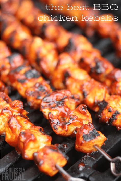 best barbecue recipes the best bbq chicken kebabs recipe