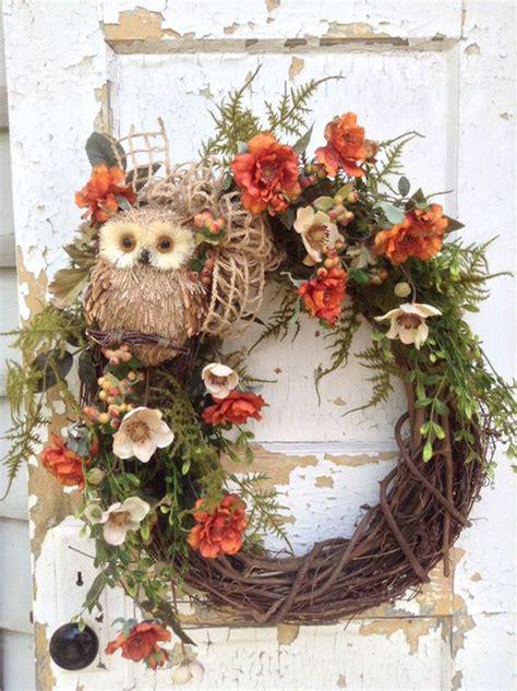 diy rustic fall wreaths homemydesign