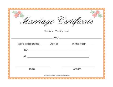 fake marriage certificate marriage certificate wedding