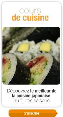 cours de cuisine japonaise destockage noz industrie alimentaire