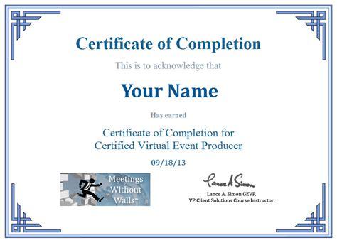 Certified Meeting Planner Programs