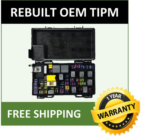 dodge ram  tipm fuse box fuse relay box genuine