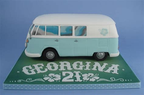 vw bus cake von dannis cake baking pinterest php   cakes