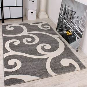 Teppich Schurwolle Grau : designer teppich grau weiss design teppiche ~ Indierocktalk.com Haus und Dekorationen
