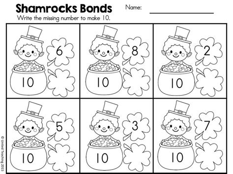 1000+ Ideas About Number Bonds On Pinterest