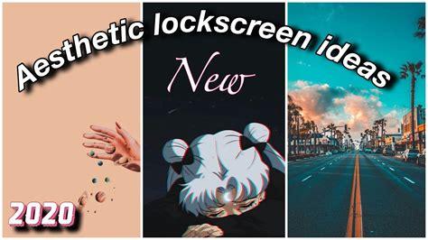 aesthetic lockscreen ideas  ios android aesthetic