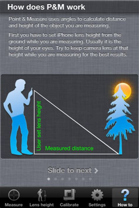 iphone measuring app turn your iphone into a measure with point measure