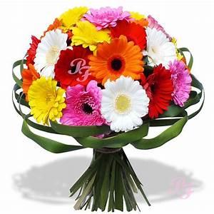 Bouquet De Fleurs : les fleurs du fleuriste bouquet arc en ciel ~ Teatrodelosmanantiales.com Idées de Décoration