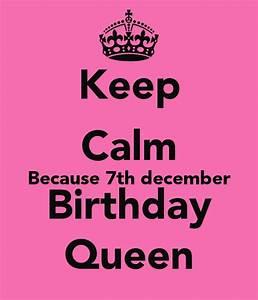 Keep Calm December Birthday Quotes. QuotesGram