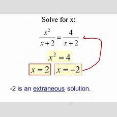 106 Solving Rational Equations  Ppt Video Online Download