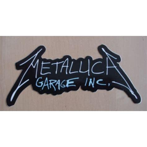 Garage Inc by Autocollant Metallica Garage Inc Sticker Thrash Paiement