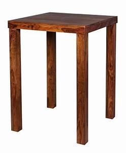 Bartisch Set Günstig : finebuy bartisch massivholz sheesham 80 x 80 x 110 cm bistro tisch landhaus stil holztisch ~ Markanthonyermac.com Haus und Dekorationen