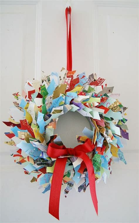 brilliant ideas  recycle  christmas cards