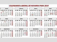Calendario oficial de fiestas laborales para 2019 en