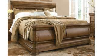 new lou king sleigh bed bedrooms first