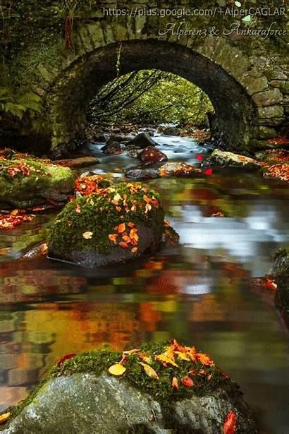 Landscape Gifs Google Animated Nature Fall Amazing