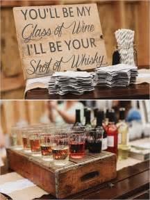 rustic wedding bar ideas  pinterest bbq