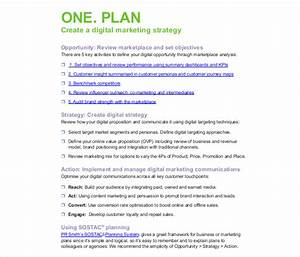 17 digital marketing strategy templates free sample With digital marketing campaign planning template