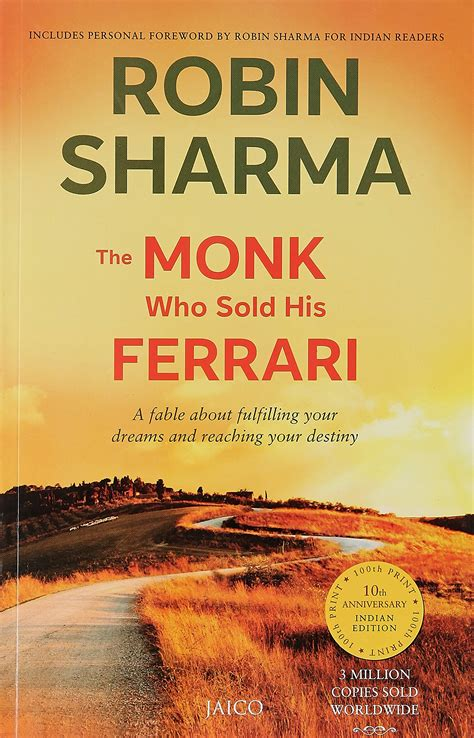The Monk Who Sold His Ferrari Robin S Sharma  My Globe