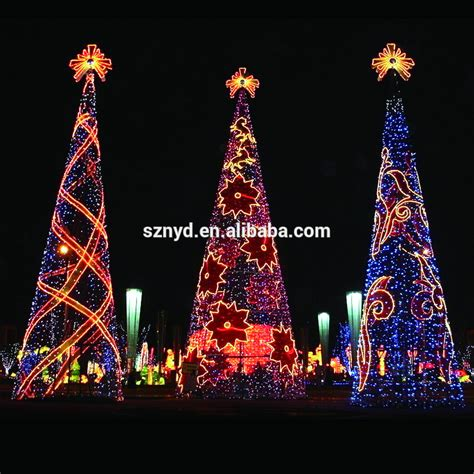 outside christmas tree lights 2015 giant christmas tree for outdoor decorations
