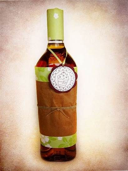 Bottle Wrapping Gift Different