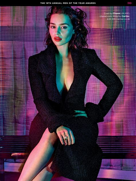 Gq Of The Year by Emilia Clarke In Gq Magazine Gq S Of The Year Issue