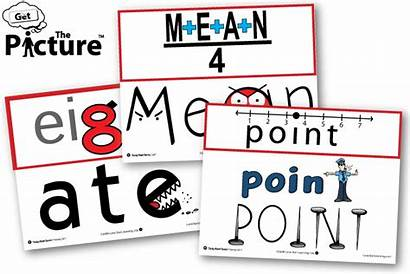 Math Terms Cards Vocabulary Tricky Visual Example