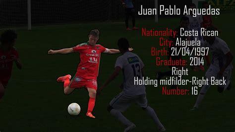 Juan Pablo Arguedas - Soccer Player - YouTube