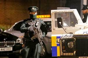 West Belfast attack: Shots fired at police car in ...