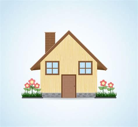 cartoon house design vector graphics real estate agent