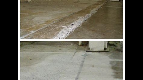 How to repair uneven expansion joints properly. Concrete