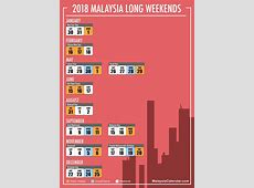 Hujung Minggu Panjang 2018 – Kalendar Malaysia