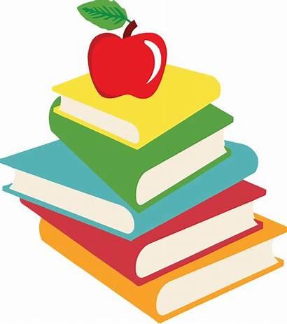 Books Clipart Words Sight Clip Homework Grade