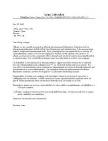 Help Desk Manager Cover Letter Resume Cover Letter