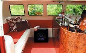 Custom VW Bus Camper Interior