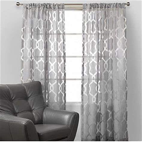 light grey walls with grey curtains home